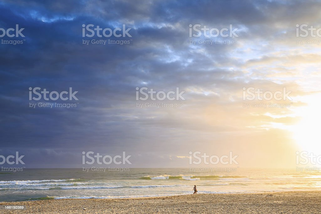 Burleigh Heads royalty-free stock photo