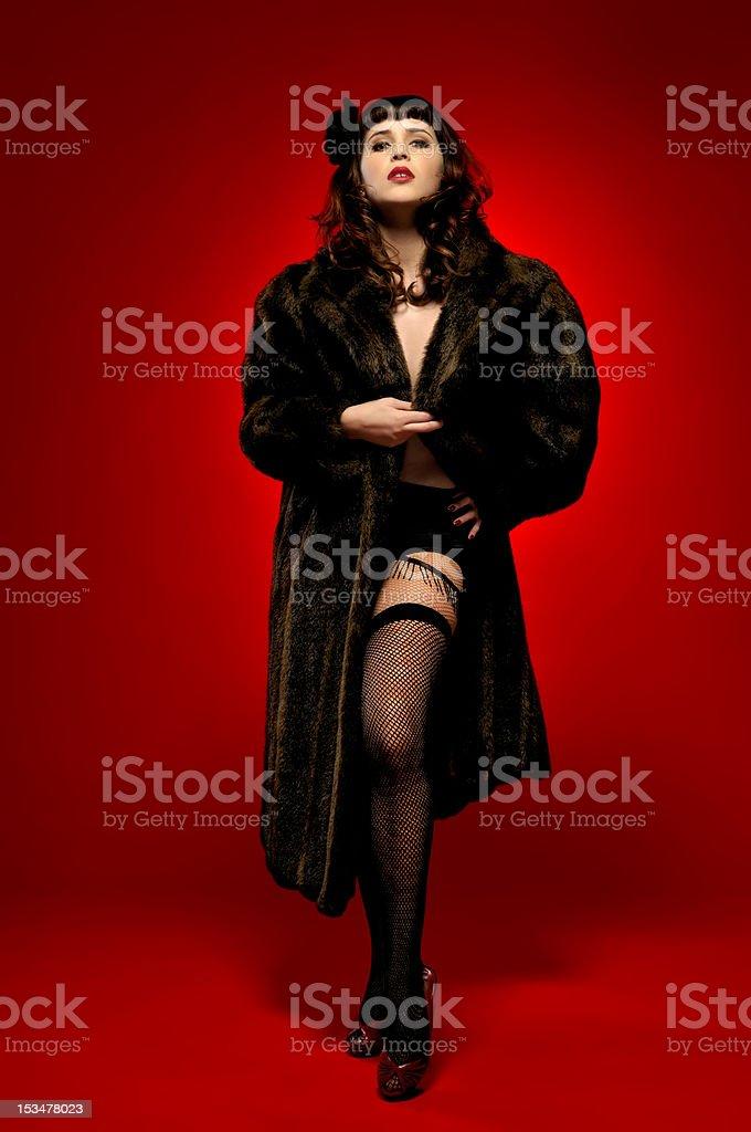 Burlesque stock photo