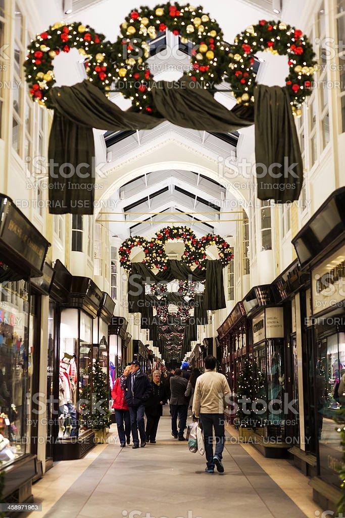 Burlington Arcade royalty-free stock photo