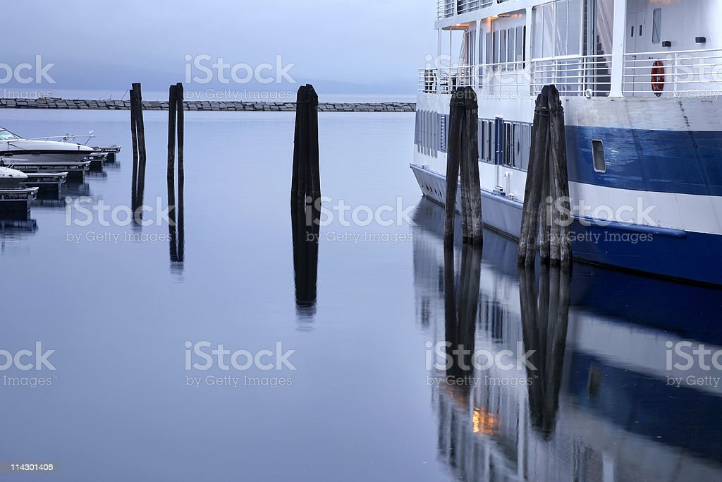 Burlington Vermont Waterfront stock photo