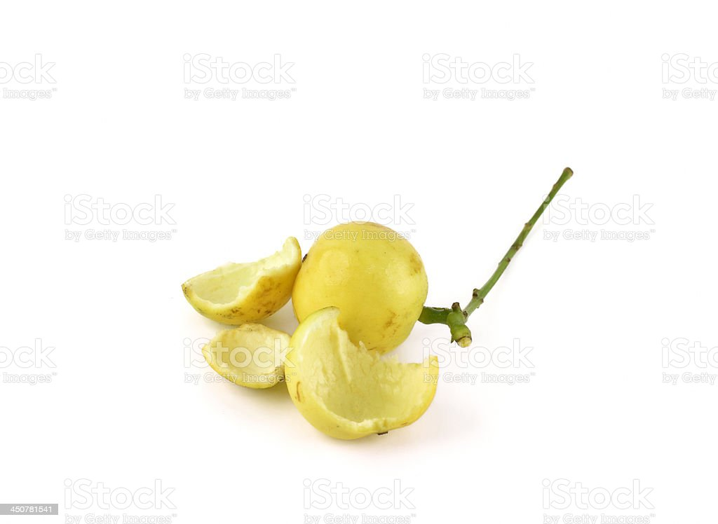 Burmese grapes isolated royalty-free stock photo