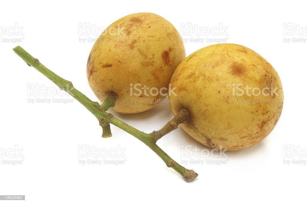 Burmese grapes stock photo