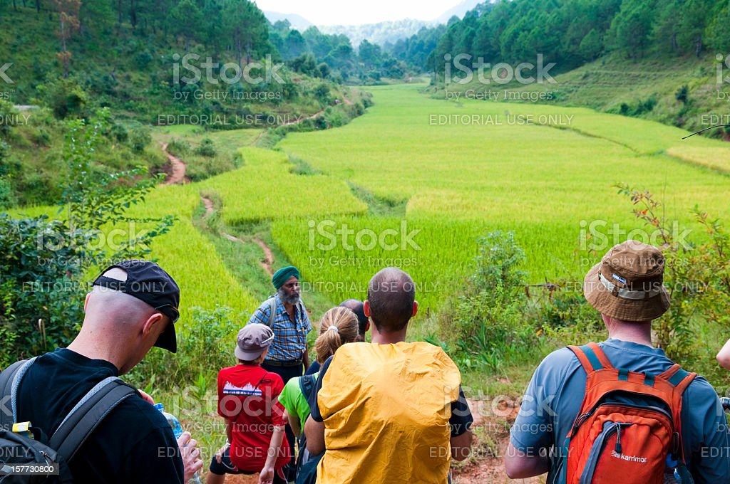 Tourism in Myanmar stock photo