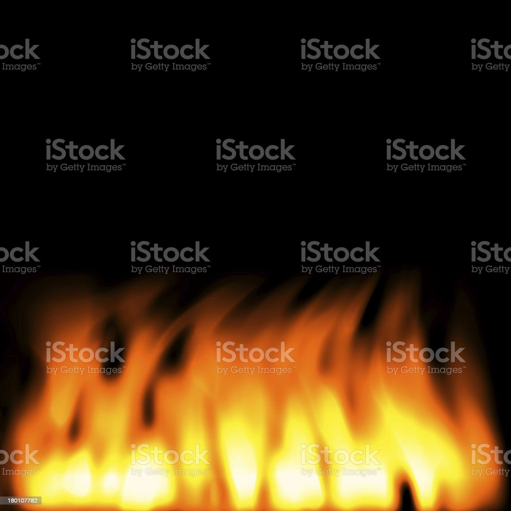 Burn flame fire background,Super size royalty-free stock photo
