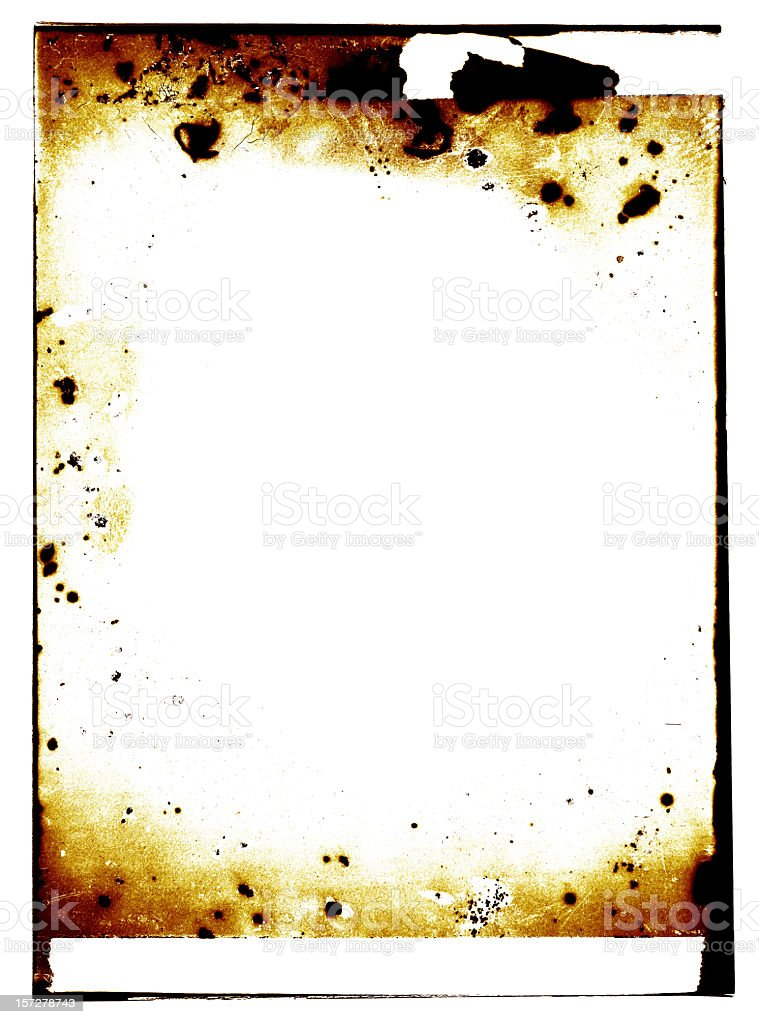 burn grunge stock photo
