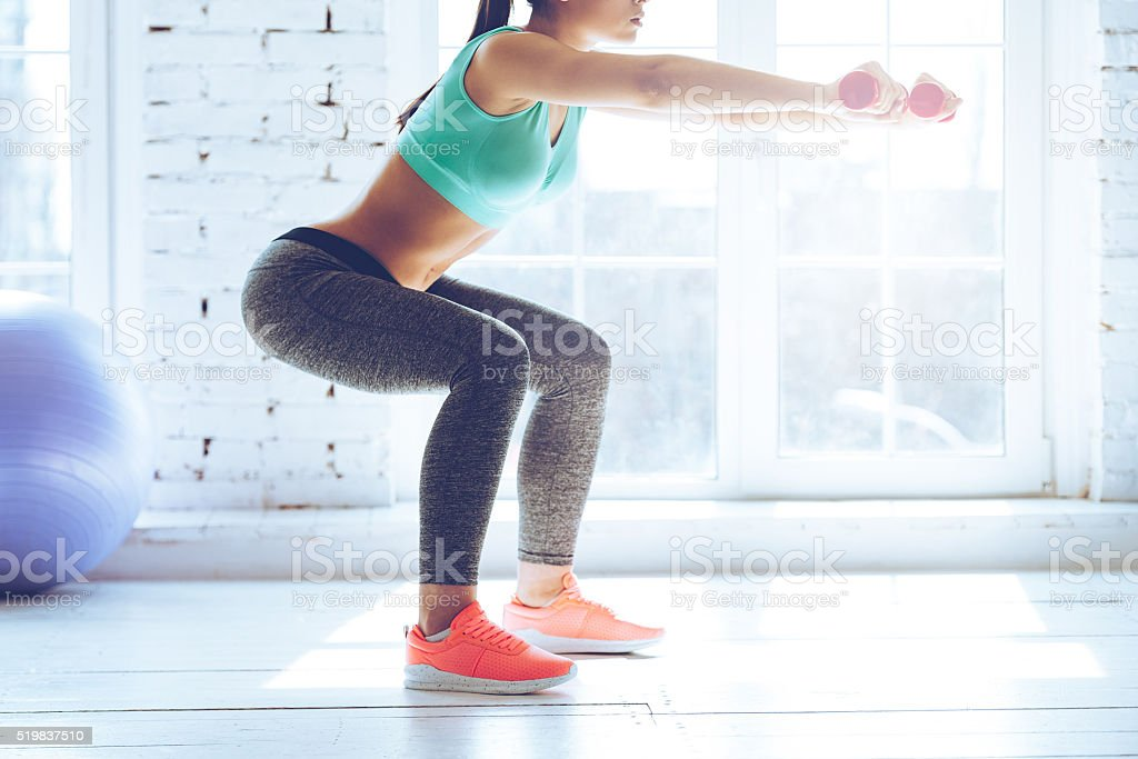 Burn in buttocks. stock photo