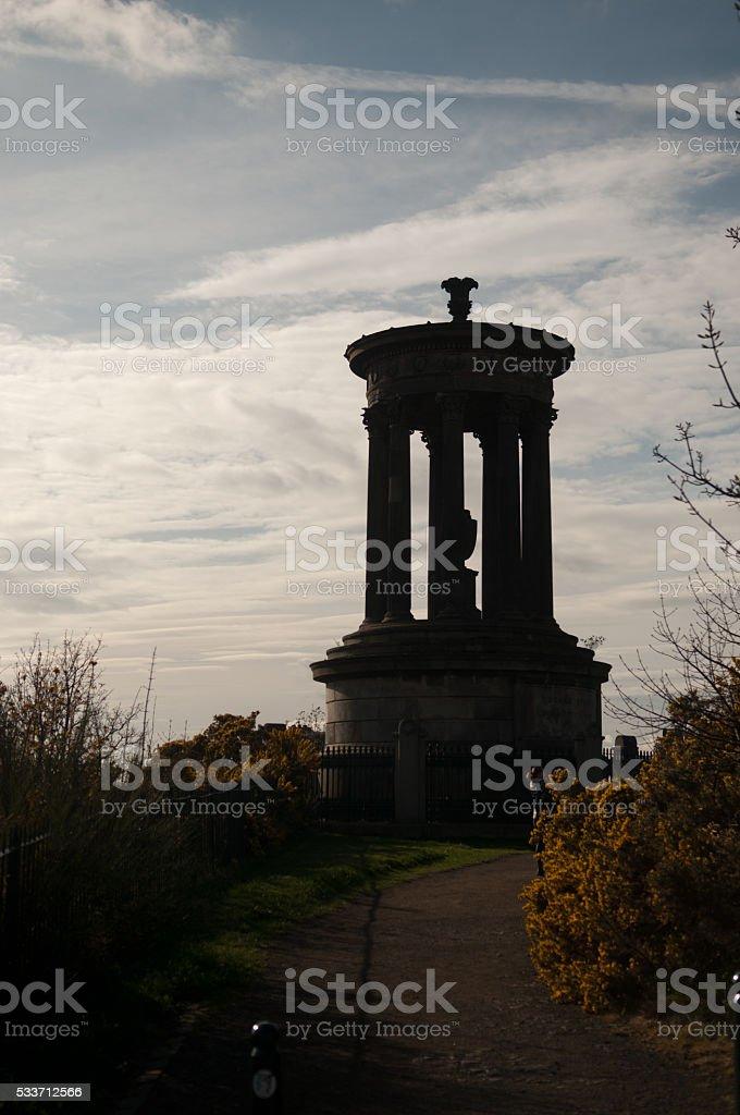 Burn Monument stock photo