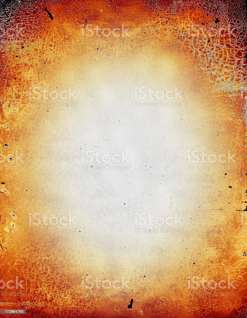 burn out grunge paper royalty-free stock photo