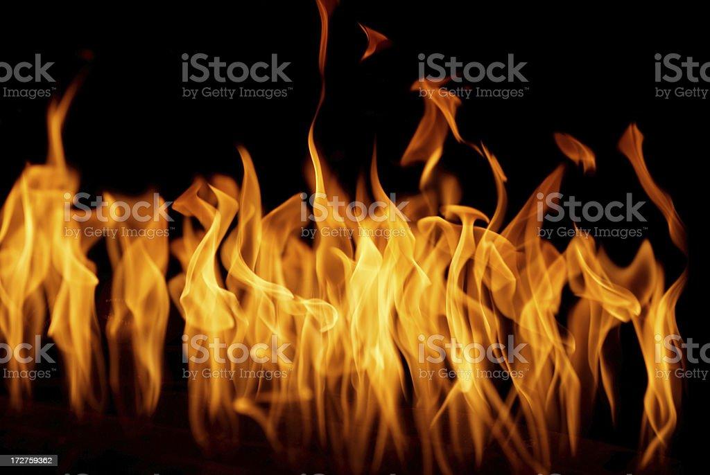 burn stock photo