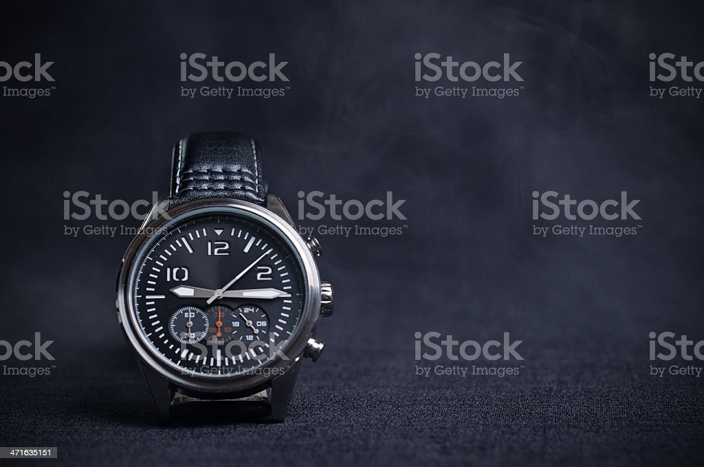 Burn Time Watch stock photo