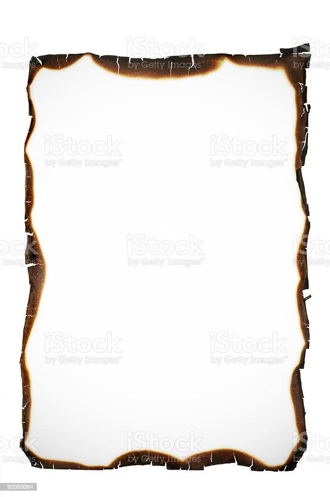 burned edges royalty-free stock photo
