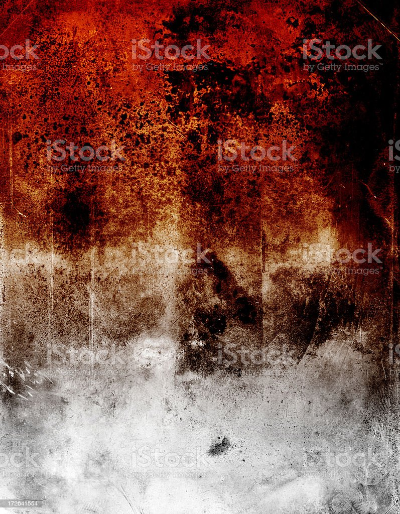 burned out grunge texture stock photo