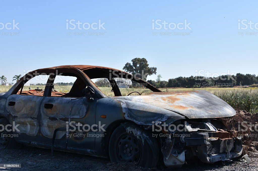 Burned Out stock photo