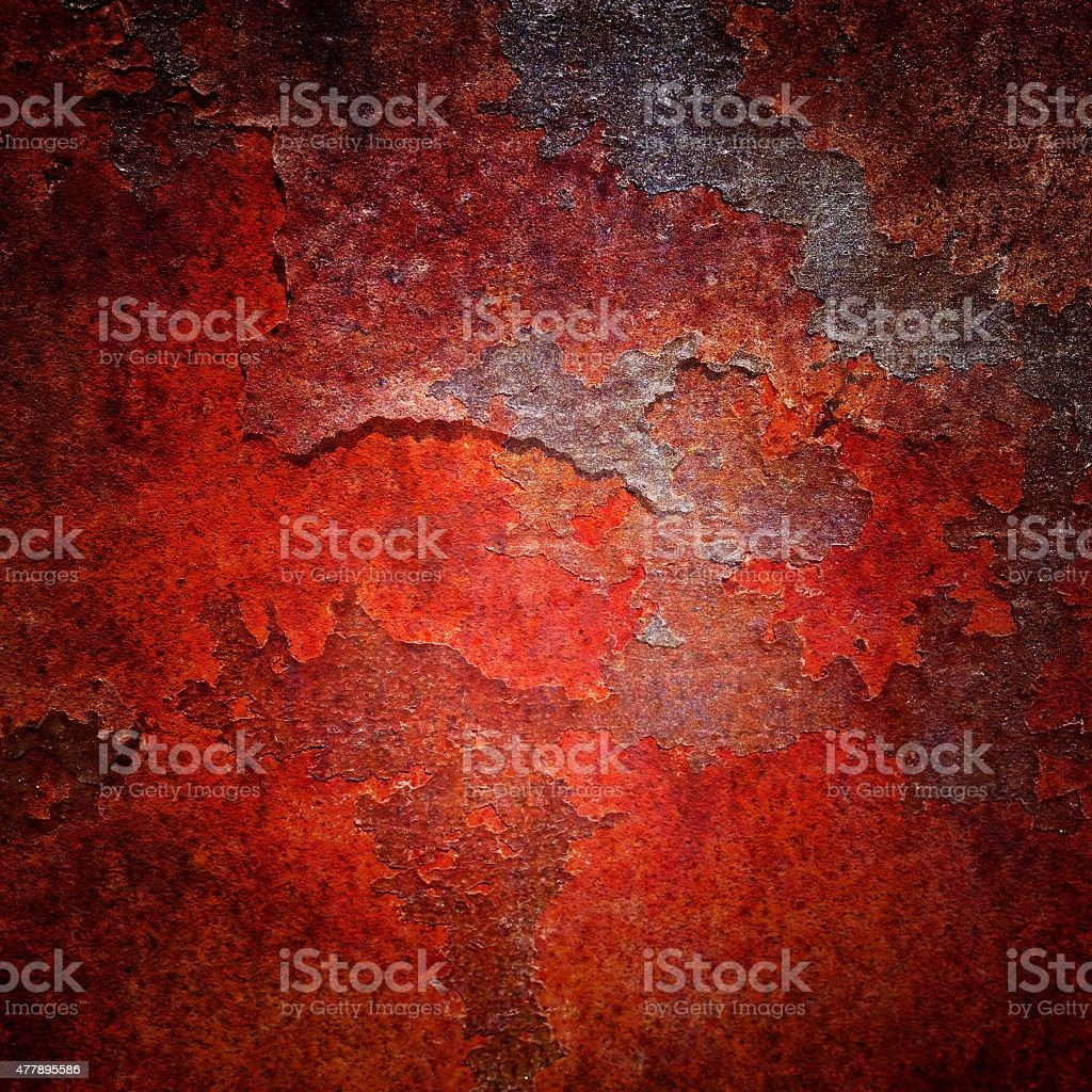Burned Rusty Background stock photo