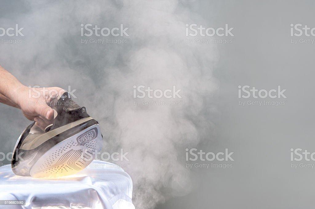 burned the shirt stock photo