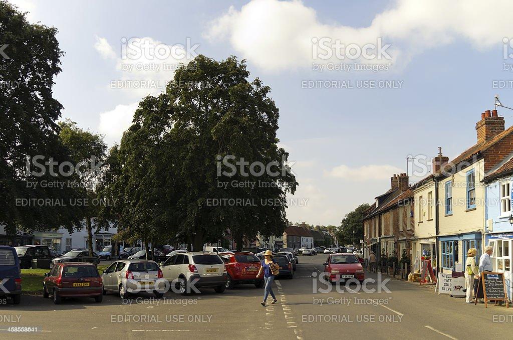 Burnham Market royalty-free stock photo