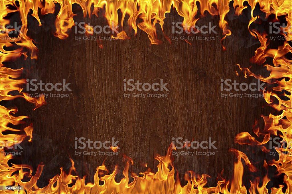 Burning background royalty-free stock photo