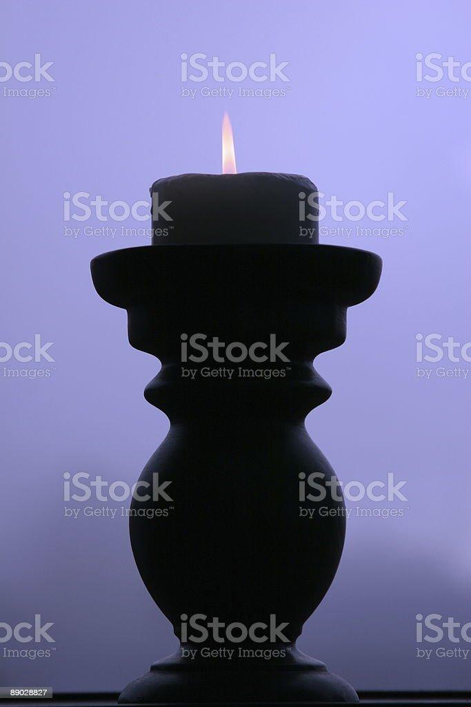 Burning Candle royalty-free stock photo