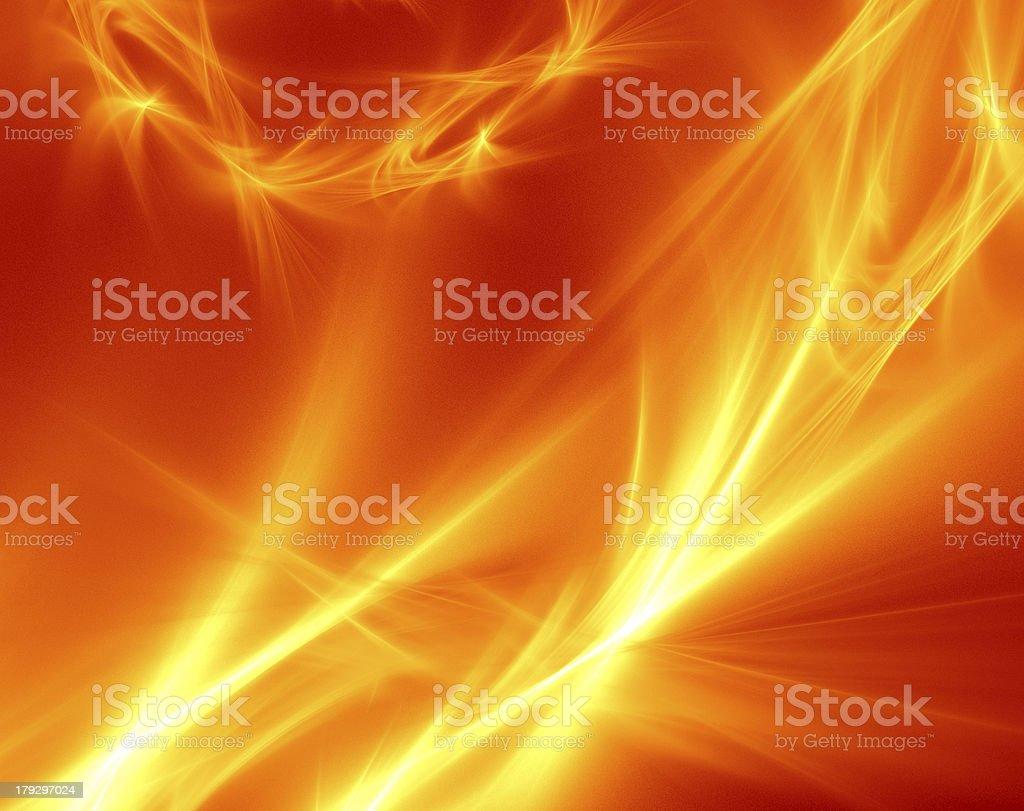 Burning Flames stock photo