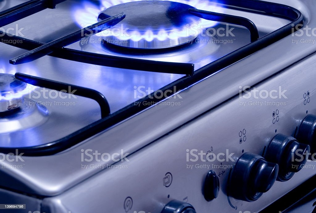 Burning Gas 1 royalty-free stock photo