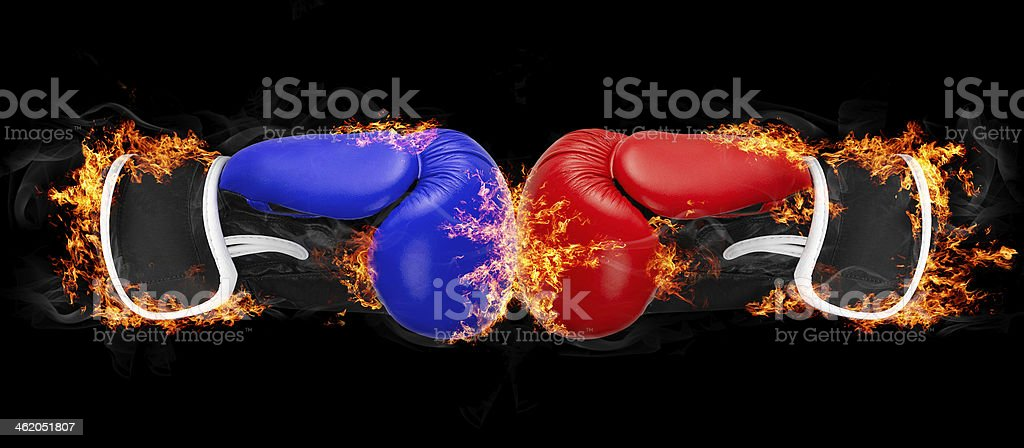 Burning objects and things on fire background royalty-free stock photo