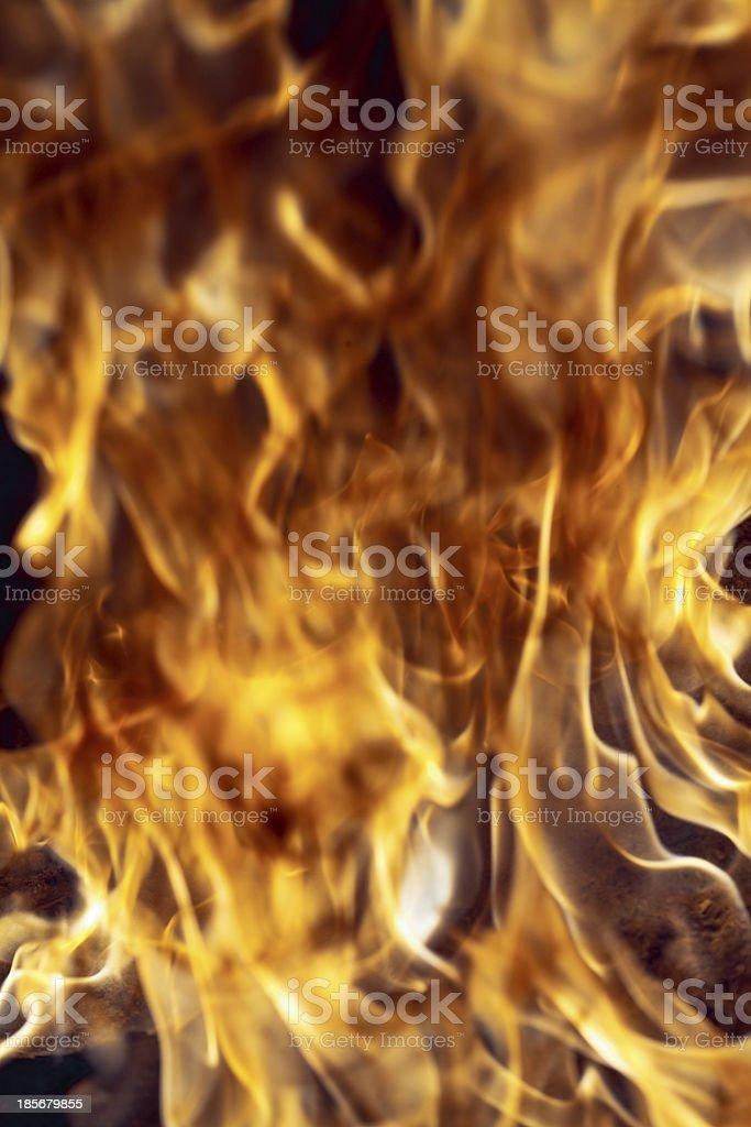Burning royalty-free stock photo