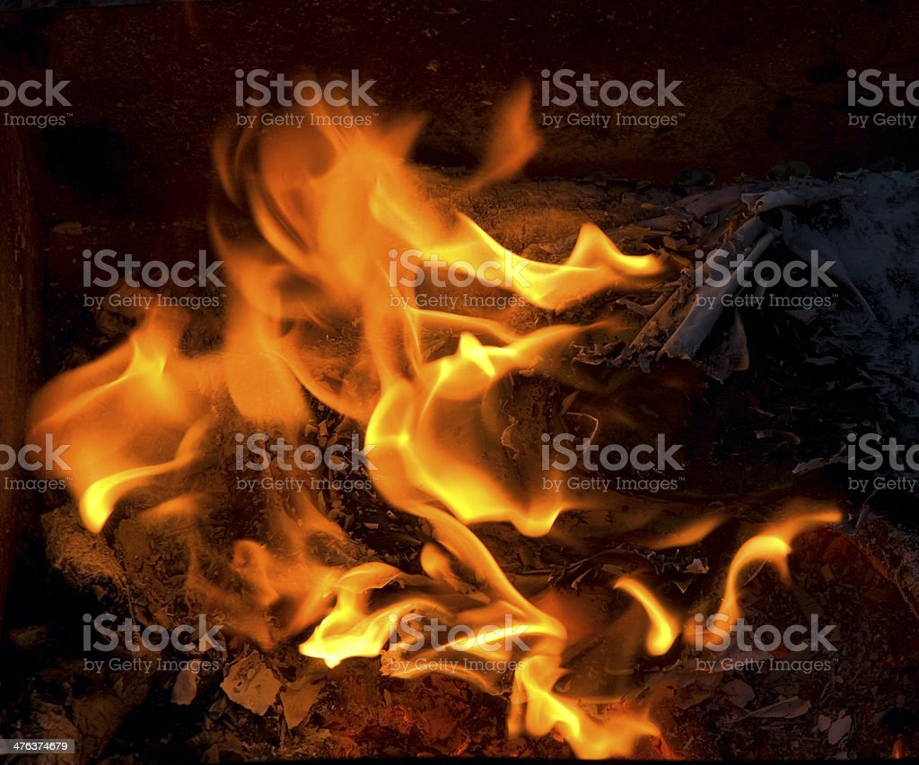 burning royalty-free stock photo