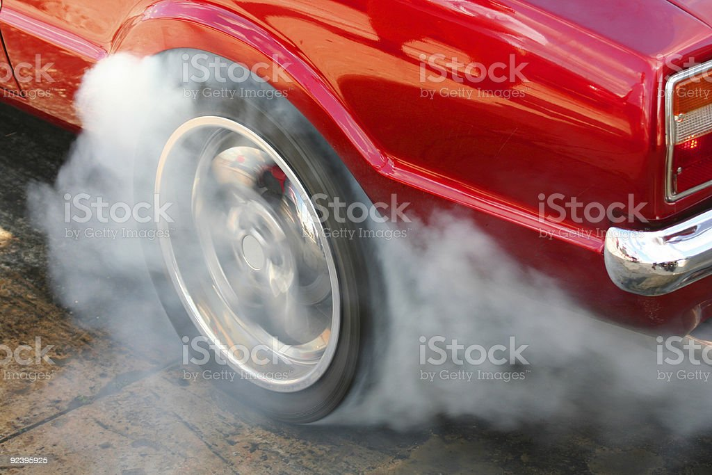 Burnout #1 stock photo