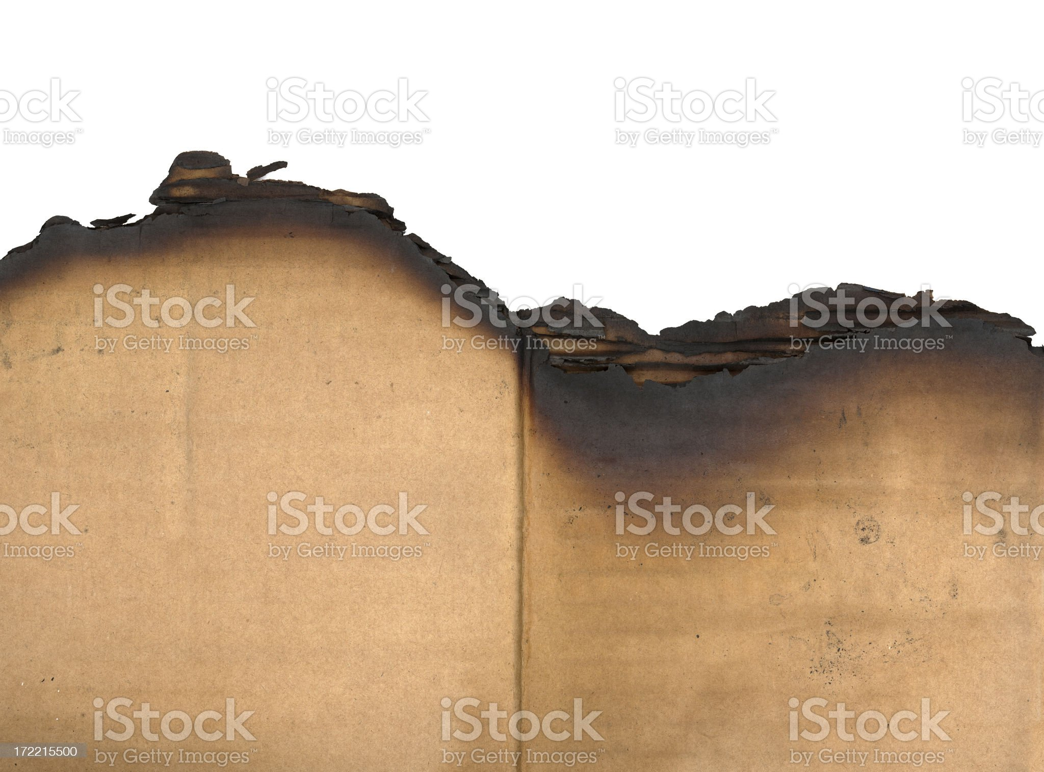 burnt edge royalty-free stock photo
