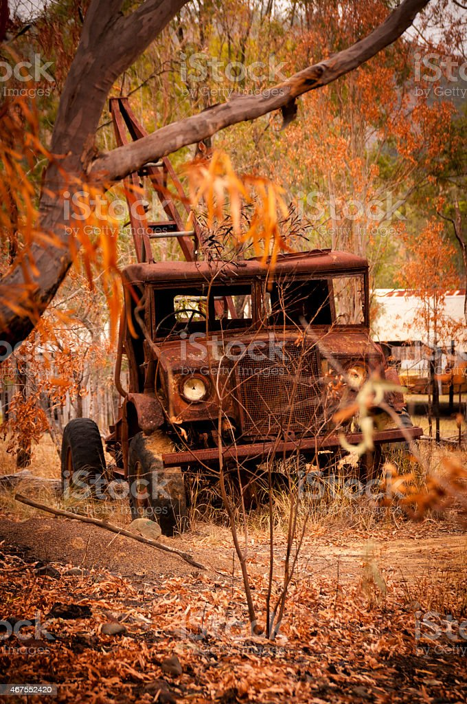 Burnt Firetruck royalty-free stock photo