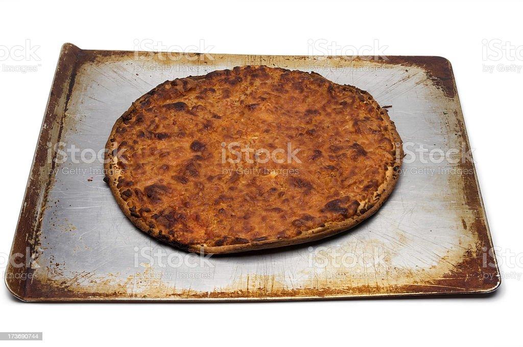 Burnt Pizza Series stock photo
