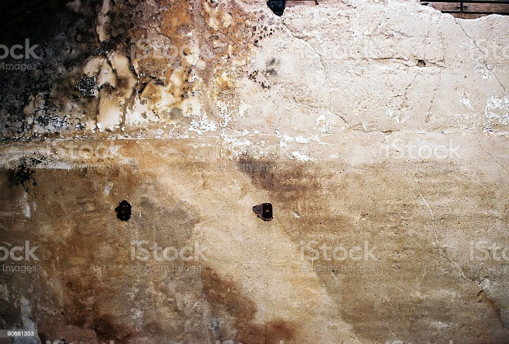 Burnt Wall royalty-free stock photo