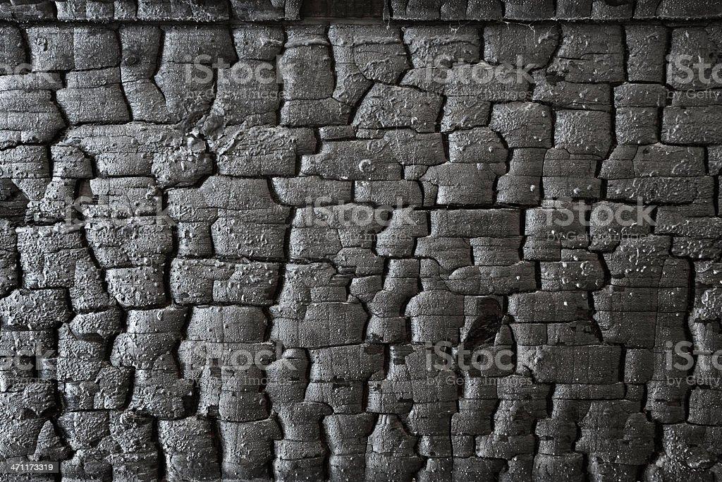 Burnt wood background. stock photo