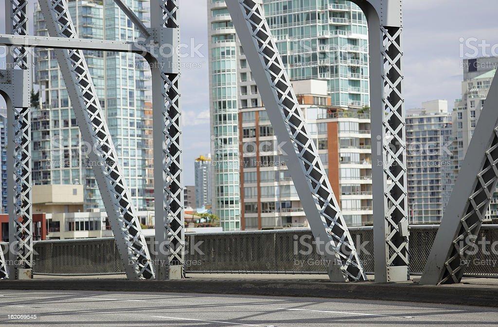 Burrard Bridge royalty-free stock photo