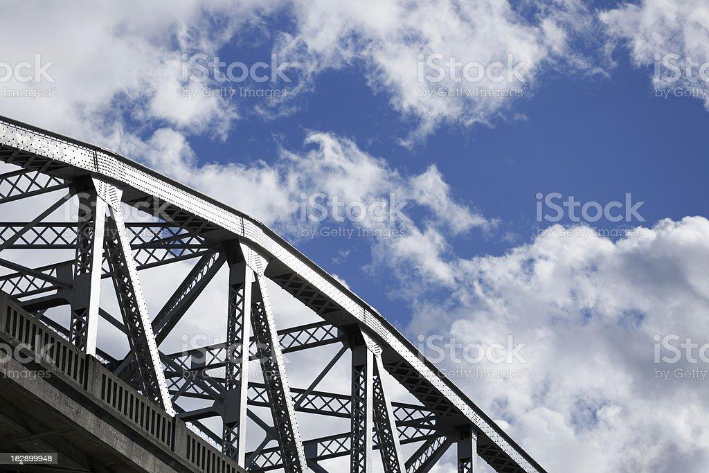 Burrard Bridge stock photo