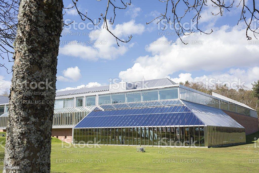 Burrell Museum, Glasgow stock photo
