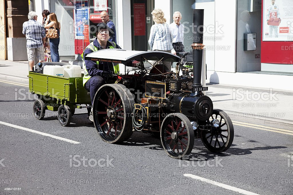Burrell steam road locomotive traction engine royalty-free stock photo