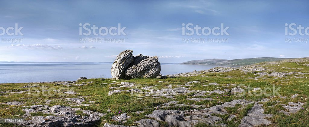Burren View royalty-free stock photo