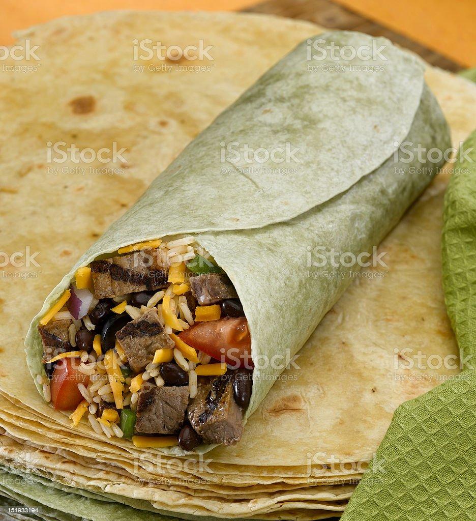 Burrito royalty-free stock photo