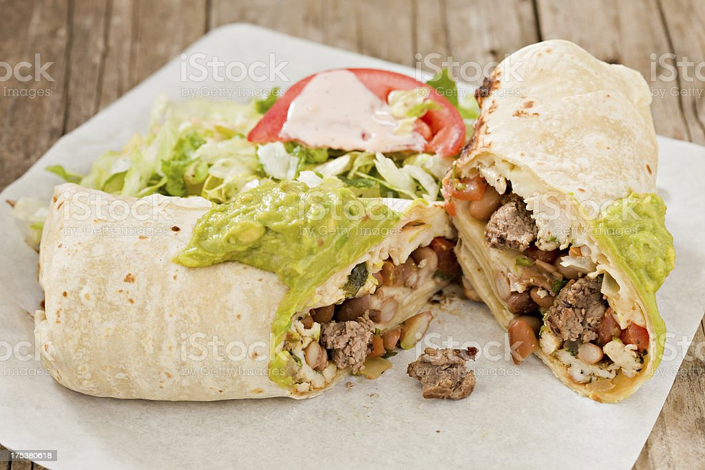 Burrito royalty-free stock photo