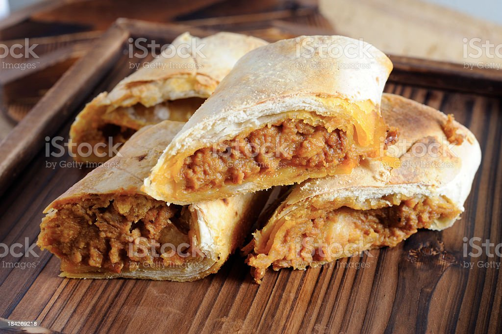 Burritos stock photo