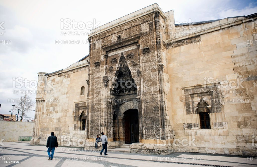 Buruciye Madrasah in Sivas stock photo