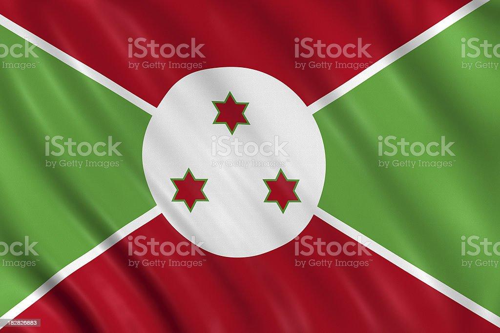 burundi flag royalty-free stock photo