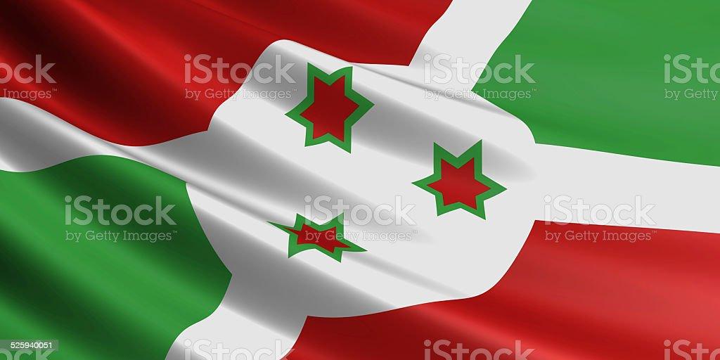 Burundi flag. royalty-free stock photo