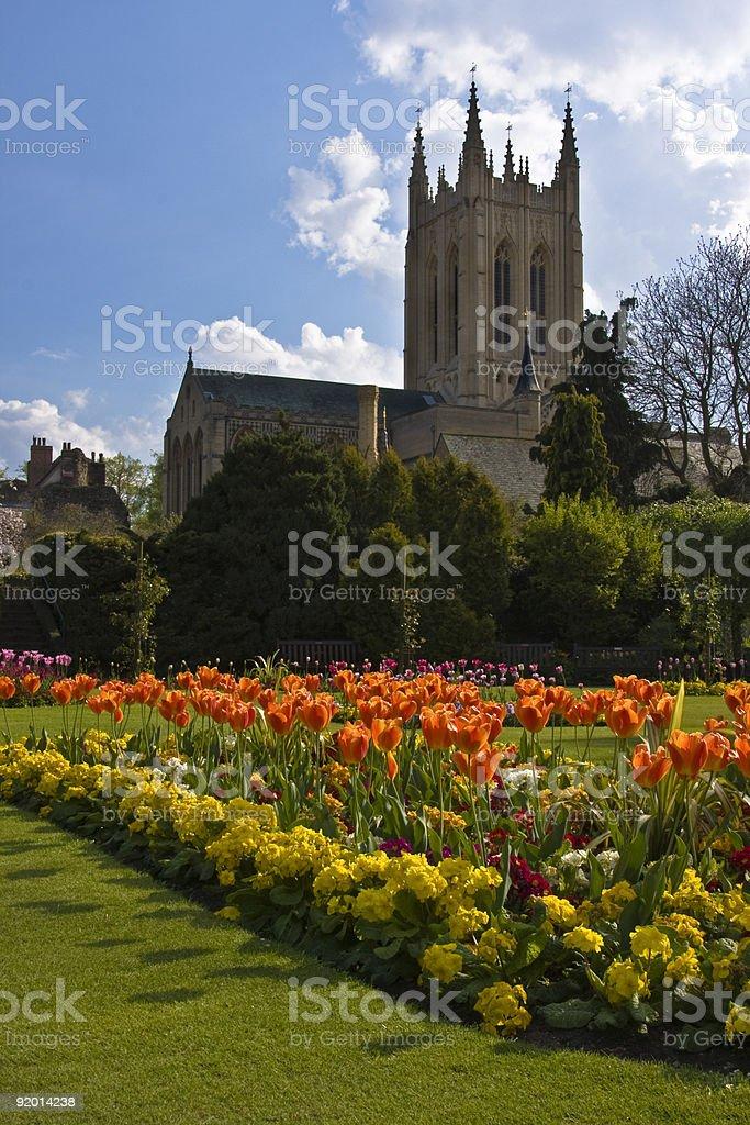 Bury Katedra zbiór zdjęć royalty-free