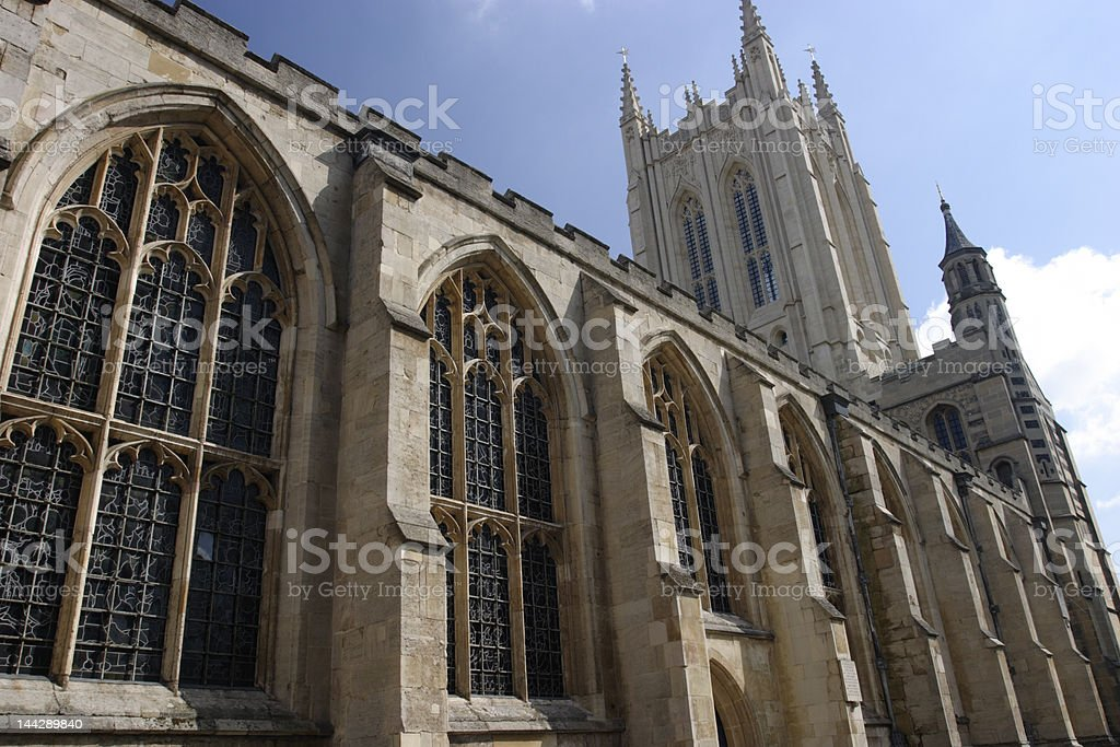Bury St. Edmunds Cathedral royalty-free stock photo