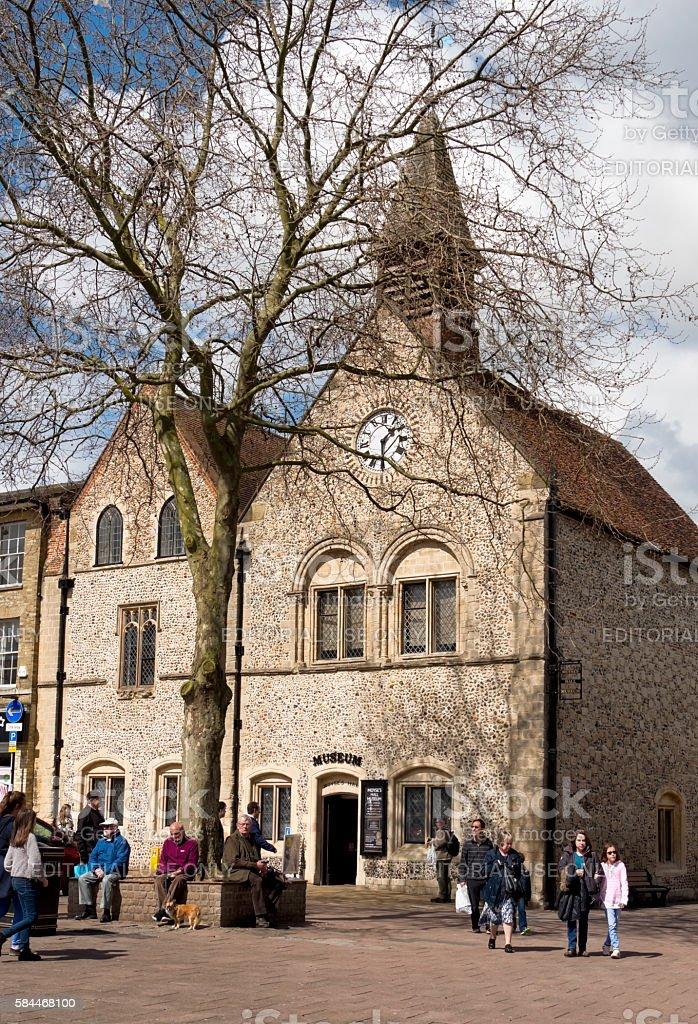 Bury St Edmunds museum stock photo