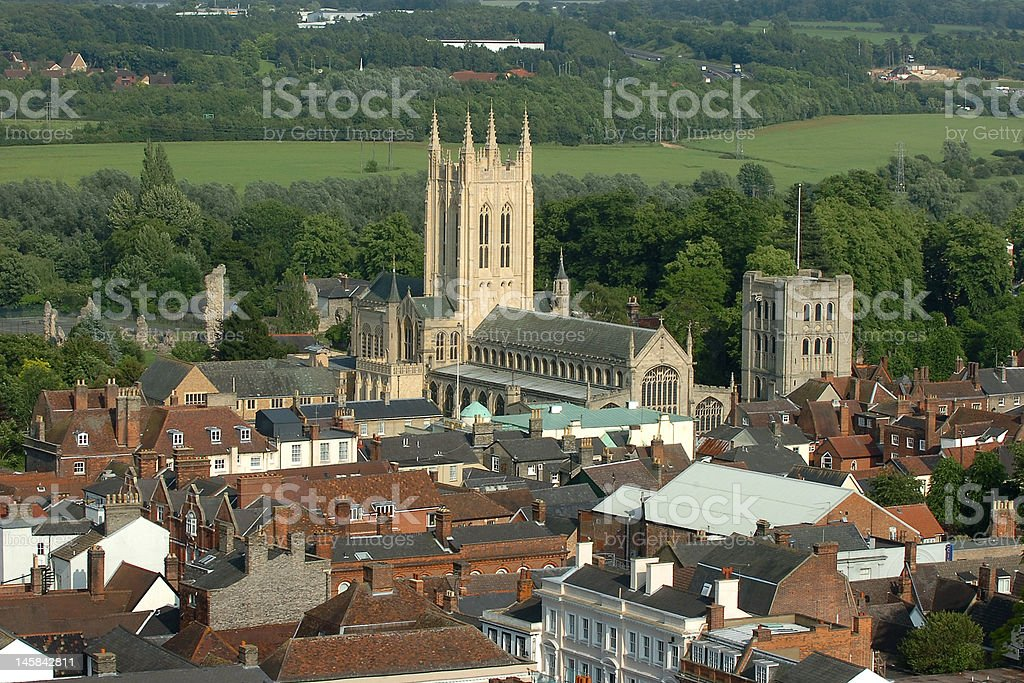 Bury St Edmunds stock photo