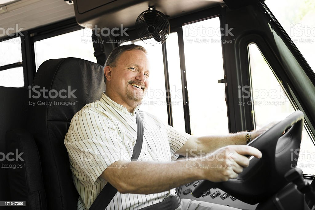 Bus Driver royalty-free stock photo