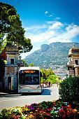 Bus in Monaco